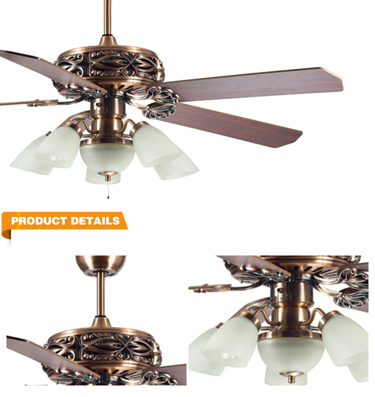 Dc Solar Fan Blade Light Ceiling Lamp Decorative Ceiling Fan Coversc