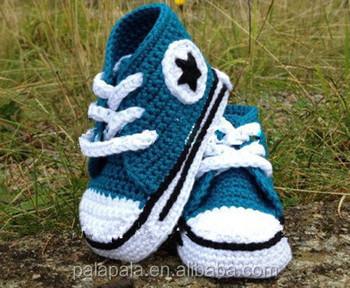 d308290d8d774 Fait Main Crochet Tricoté Bébé Pantoufles Baskets Chaussons - Buy ...