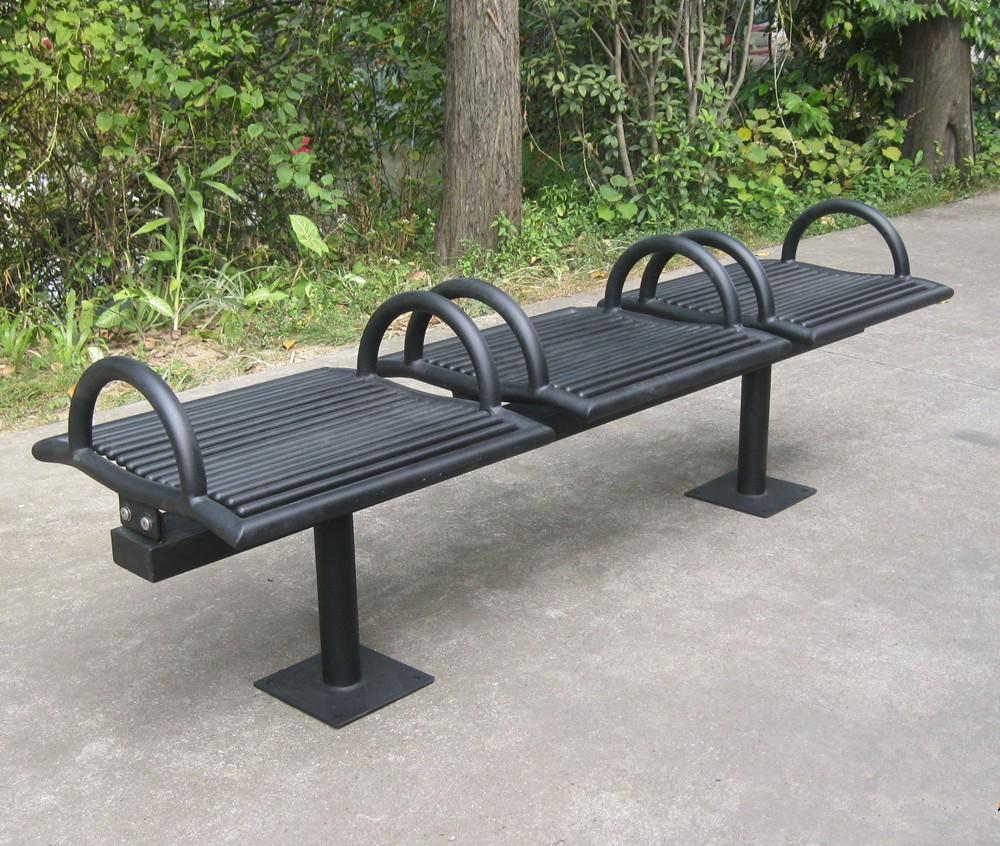 6 feet long outdoor bench chair park bench garden chair metal park