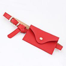 Поясная Сумка TTOU из искусственной кожи, Женская Повседневная сумка-кошелек, однотонная нагрудная сумка для девушек, женская сумка(Китай)