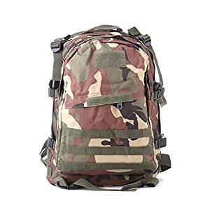 Goliton Large Capacity Army Fans Packed Camping Outdoors Hiking Sport Shoulder Camouflage Backpack Tactical 3D Backpack Camouflage