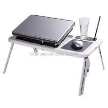 laptop accessory--folding laptop table with two fans
