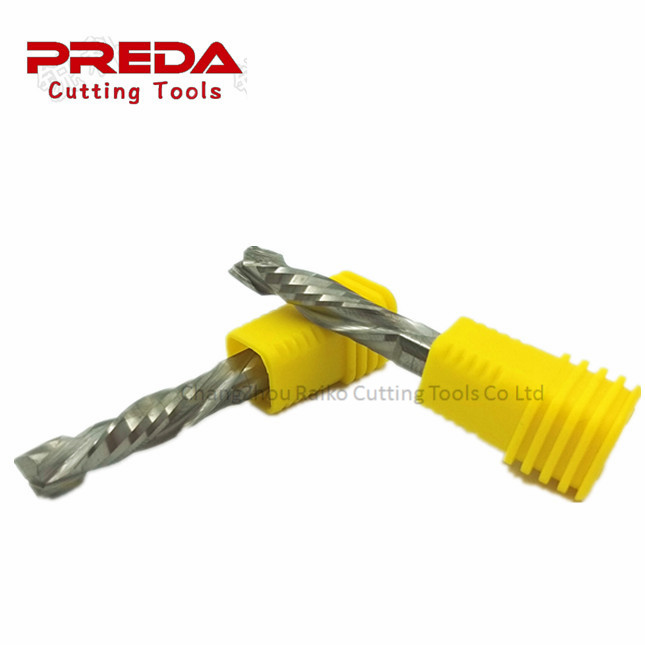 Hot sale CNC router bits solid <strong>carbide</strong> up&down cut two spiral flute drill bits