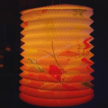 Whole Cylindrical Paper Lanterns