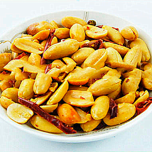 Wholesale bulk 38/42 spicy peanut kernel with factory price