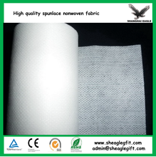 Wet tissue facial masks cosmetic pads 70% viscose 30% polyester Cross lapping spunlace non woven fabric