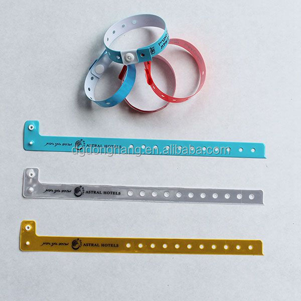 Cheap plastic event wrist bands