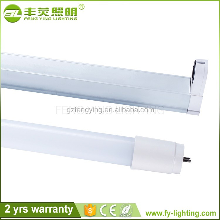 High lumens Custom t8 led tube glass and pc include