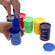 Novelty children adult toy oil drums trick paint barrel slime April fools day Halloween gag tricky toys