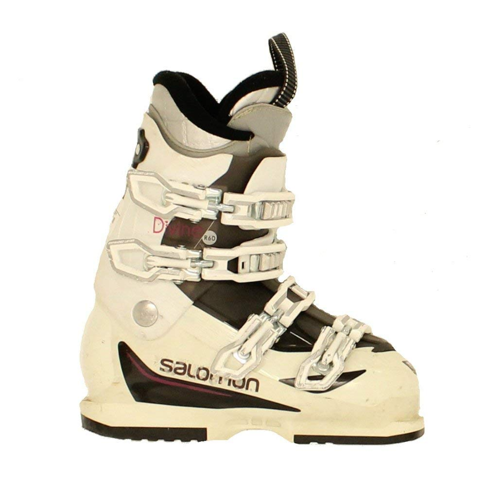 29682a215b9f Get Quotations · Used Womens Salomon Divine R 60 Ski Boots US 6.5-23.5