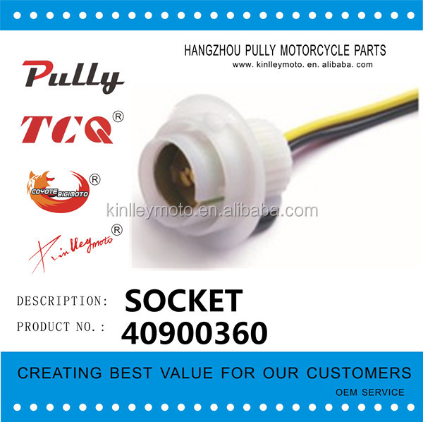 HOT SELL HIGH QUALITY HEADLIGHT BULB SOCKET AUTO BULB SOCKET