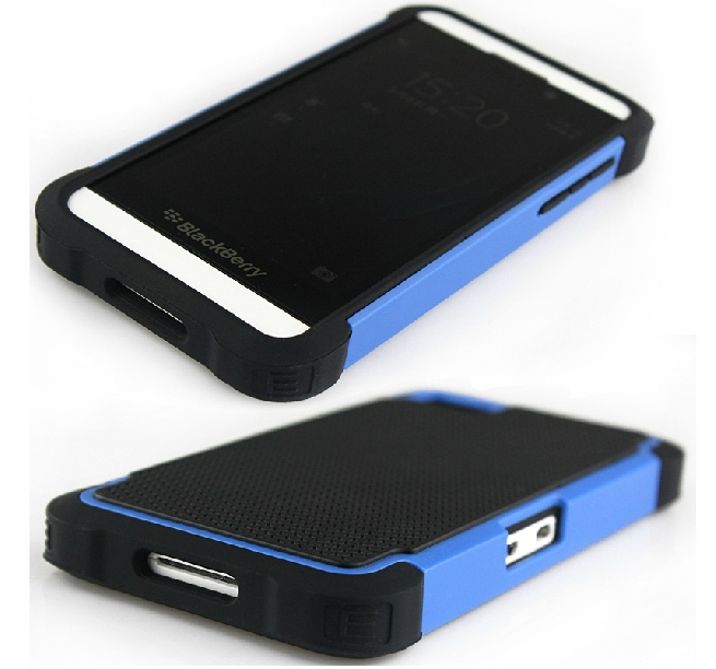 For Blackberry Z10 Colorful Rugged Armor Hybrid Hard Case