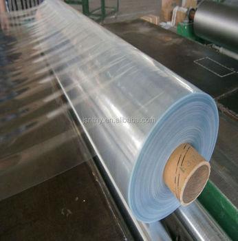 200 Micron Thick Plastic Sheet Of Pvc Transparent Film