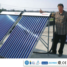 Sun power homemade high temperature solar thermal collector