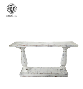 Beau Distressed White Console Table Hl291w   Buy French Console,Reclaimed Wood  Furniture,Recycled Wood Table Product On Alibaba.com