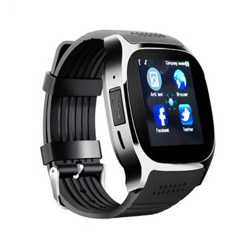 T8 new smart watch 1.56inch Bluetooth card to call the phone step sleep lcd touch screen ios & android smart watch