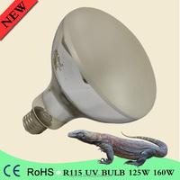 125W 160watt self ballested mercury vapor active uv heat bulb