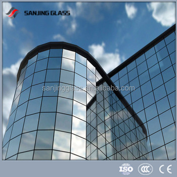 Double exterior wall hurricane glass panels buy interior for Exterior glass wall panels