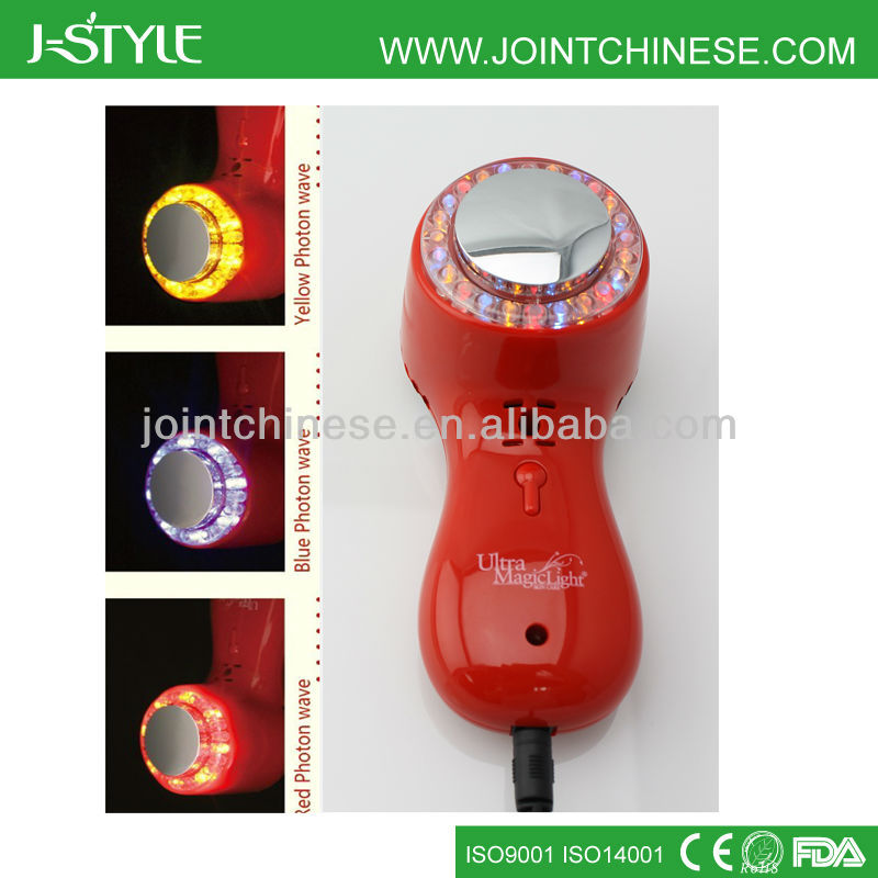 1MHz Utrasonic LED Lighting Beauty SPA Machine