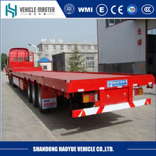 3 axle 12m flat bed 40ft container trailer price in india