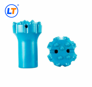 drifter rock drill tools normal and retrac thread button bit T35,T38,T45,T51 with diameter 54mm,57mm,64mm,76mm,89mm,102mm,115mm