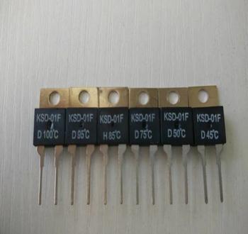 New And Original KSD 01F 55 Degree Celsius 01FD55 Thermostat