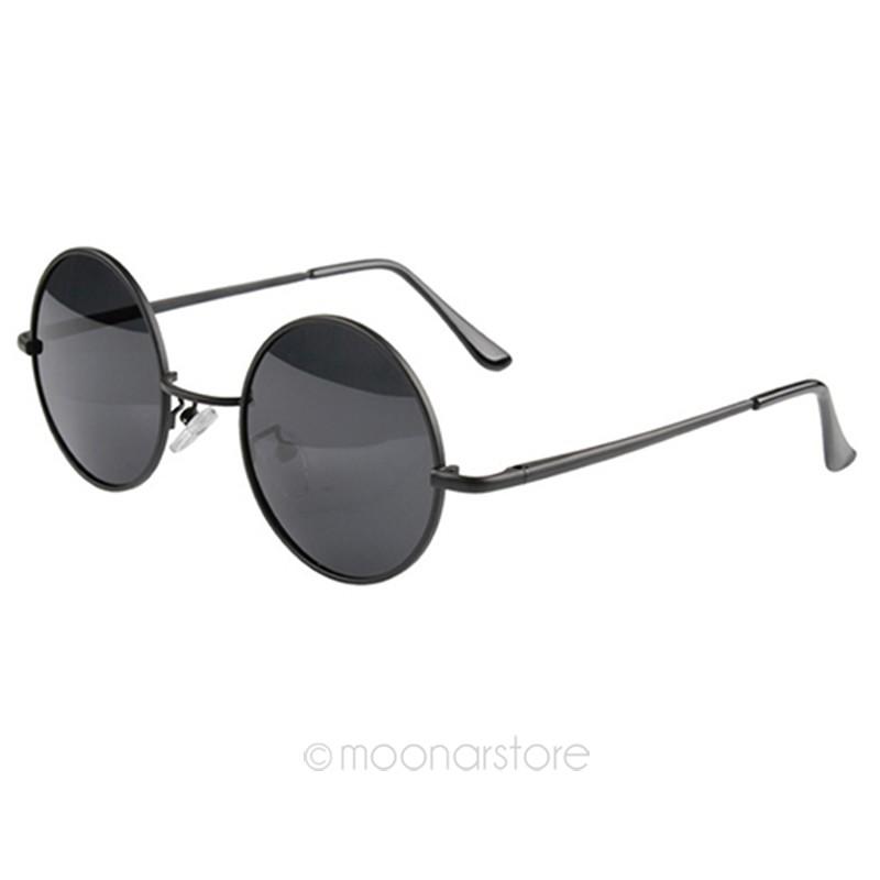041b3fb5eb Wholesale New Fashion Hot Vintage Black Round Circle Sunglasses Sexy ...
