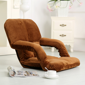Creative Lazy Armchair cushion single folding bed back seat computer sofa Single dormitory folding tatami Bed