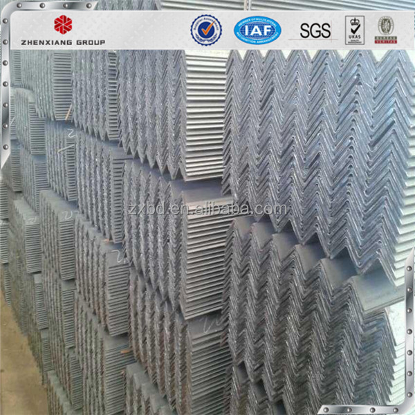 Hot Sale!Factory supply punched holes equal and unequal galvanized perforated iron Slotted Angle Steel
