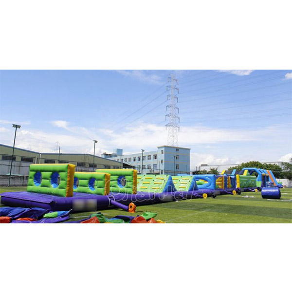 Commercial largest adult inflatable obstacle course for sale in the world