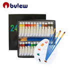 24colors Professional Acrylic Artist Paint Free Sample Acrylic Paint Set