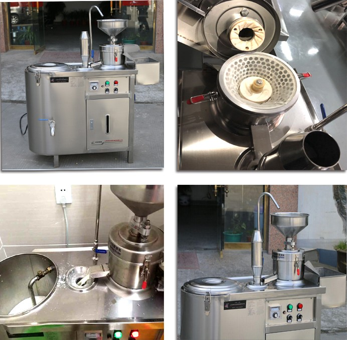 Hot selling traditional tofu equipment soybean processing soy milk making machine