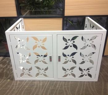 dexone aluminum air conditioner louver air conditioner protective cover - Air Conditioner Covers
