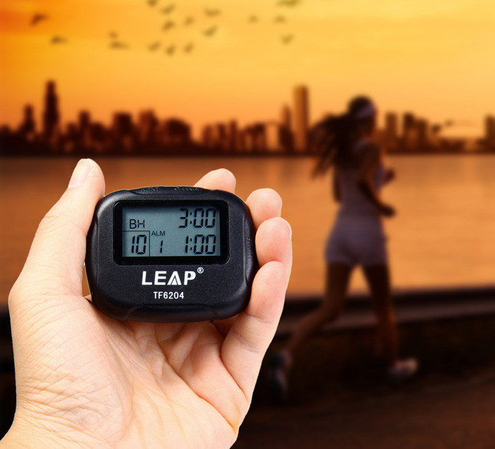 2017 High Quality LEAP TF6204 Interval <strong>Timer</strong> for Sports Fitness Boxing with LCD