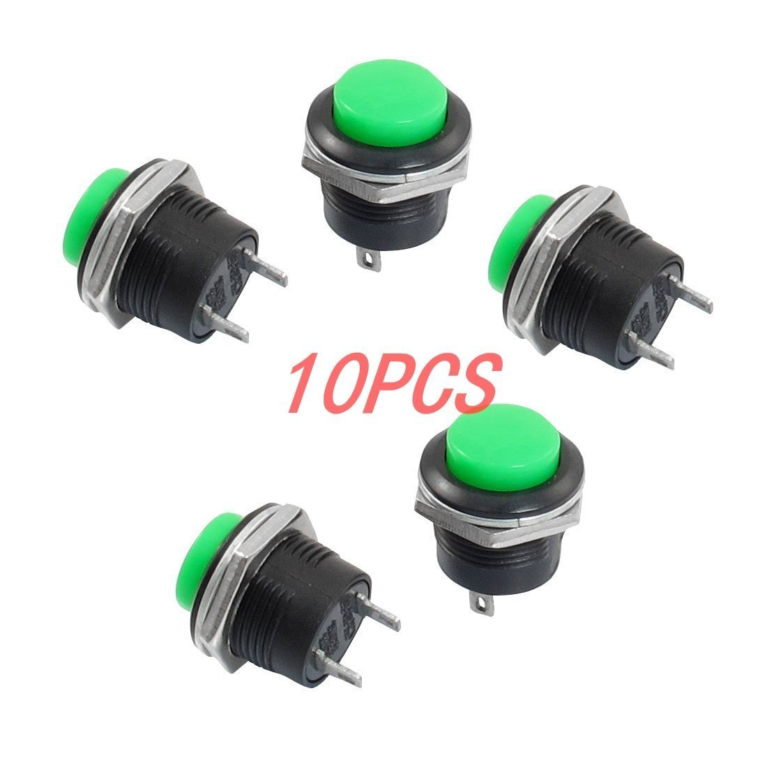 Cheap Push Button Spst Find Deals On Line At Circuit Using Non Latching Switches Relays Control Get Quotations Bluesky 25 X 19mm 2pins Momentary No Switch For Controlling In Electromagnetic Starter