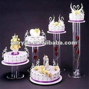 2 Tier Acrylic Wedding Cake Stands Buy 2 Tier Acrylic