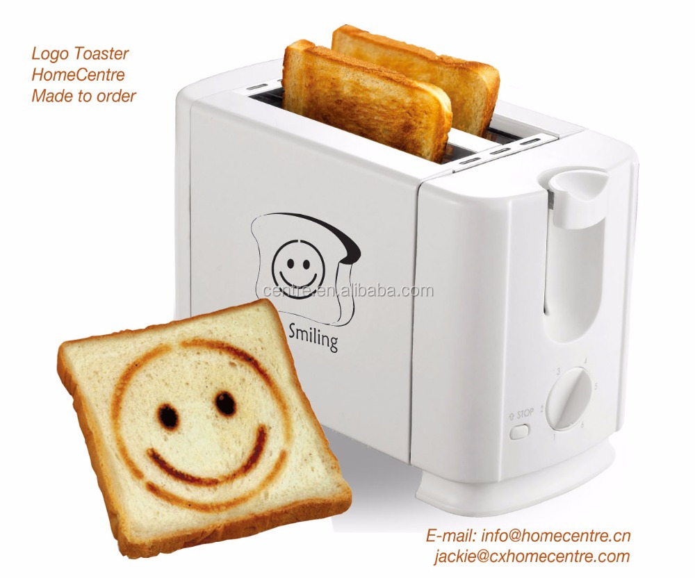 2 Slice upright LOGO toaster/ 700W/Pop-up