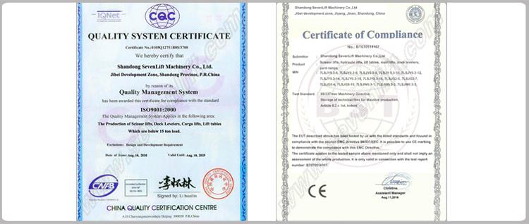 china electric manual scissor lift mobile /movable scissor lift platform