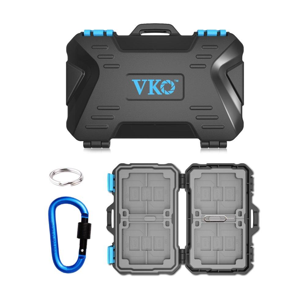Get Quotations Vko 26 Slots Memory Card Case Sd Holder Cf