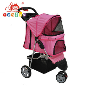 New Products China Supplier 3 wheels small pet stroller Sp03