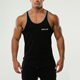 Men Summer Bodybuilding Clothing and Fitness Sleeveless Vests Singlets Muscle Gym Stringer Tank Tops