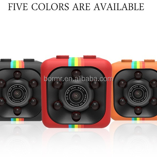 Attractive Hot Selling Belt Buckle Hidden Camera Motion Detection Camera SQ11 Dorm  Room Hidden Camera Part 27