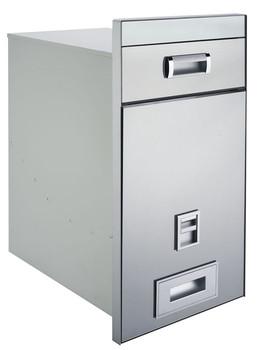 Perfect Modern Kitchen Storage Dispenser Rice Box In Powder Coated Finish