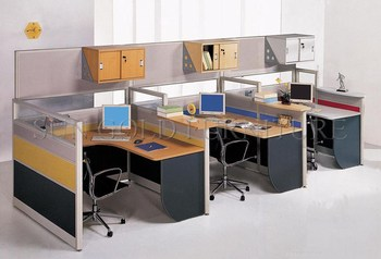 USA Wholesales Office Workstation Cubicle With Hang Overhead Cabinet  (SZ WS370)