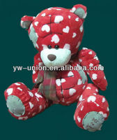 Valentine matching outfits plush bear