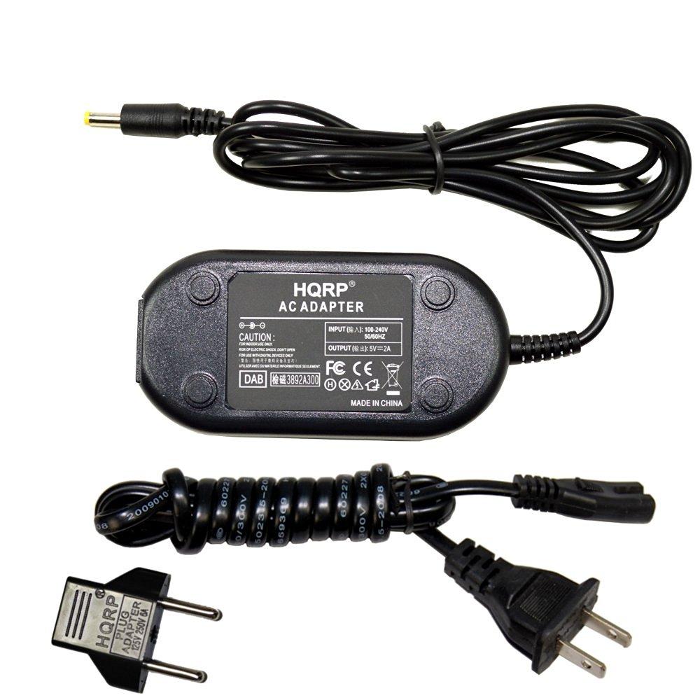 HQRP AC Power Adapter for Kodak Camera Dock 6000, Camera Dock Series 3, HDTV Dock plus Euro Plug Adapter