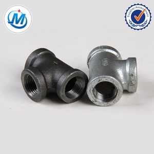 2 inch equal tee/BS thread tee Malleable iron pipe fitting