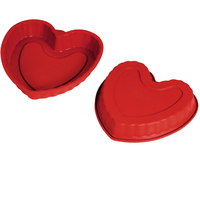 big heart shape bread pan silicone cake mold