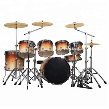 <span class=keywords><strong>Professionele</strong></span> 7 stks Drum Set Deluxe Schilderen Drum set