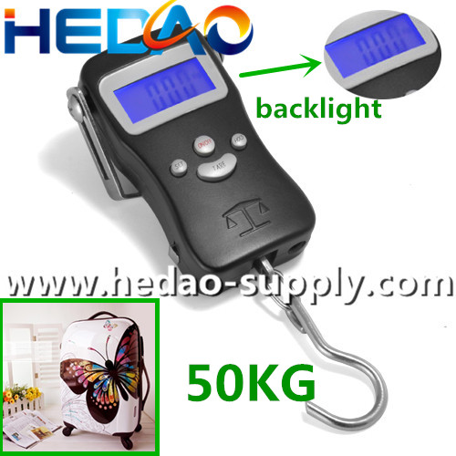 luggage 50KG Tape Measure Digital Luggage Scale